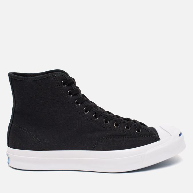 Мужские кеды Converse Jack Purcell Signature Black Canvas Hi