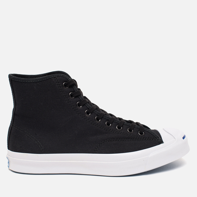 Converse Jack Purcell Signature Men's Plimsoles Black Canvas Hi
