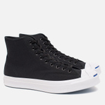 Converse Jack Purcell Signature Men's Plimsoles Black Canvas Hi photo- 1
