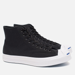 Мужские кеды Converse Jack Purcell Signature Black Canvas Hi фото- 1