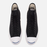 Мужские кеды Converse Jack Purcell Signature Black Canvas Hi фото- 4