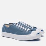 Мужские кеды Converse Jack Purcell Signature Blue Coast/White/White фото- 2
