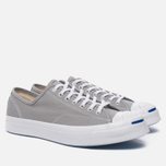 Мужские кеды Converse Jack Purcell Signature Dolphin/White/White фото- 2