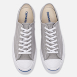 Мужские кеды Converse Jack Purcell Signature Dolphin/White/White фото- 4