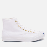 Converse Jack Purcell Signature Men's Plimsoles White Canvas Hi photo- 0