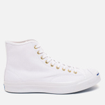 Мужские кеды Converse Jack Purcell Signature White Canvas Hi фото- 0