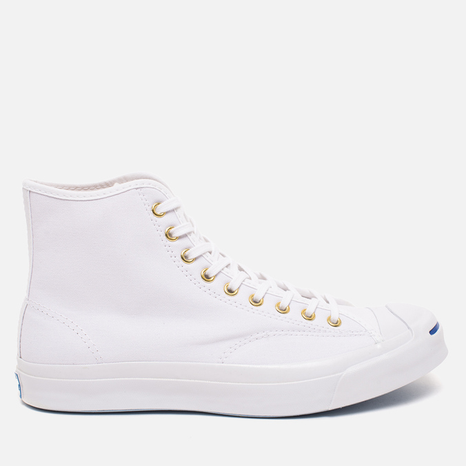 Мужские кеды Converse Jack Purcell Signature White Canvas Hi