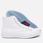Converse Jack Purcell Signature Men's Plimsoles White Canvas Hi photo- 2