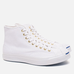 Мужские кеды Converse Jack Purcell Signature White Canvas Hi фото- 1