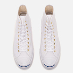 Converse Jack Purcell Signature Men's Plimsoles White Canvas Hi photo- 4