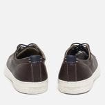 Мужские кеды Converse Jack Purcell Tumbled Leather Remastered Burnt Umber фото- 3