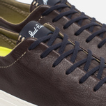 Мужские кеды Converse Jack Purcell Tumbled Leather Remastered Burnt Umber фото- 5