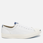 Мужские кеды Converse Jack Purcell Tumbled Leather Remastered White фото- 0
