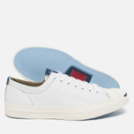 Мужские кеды Converse Jack Purcell Tumbled Leather Remastered White фото- 2