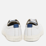 Мужские кеды Converse Jack Purcell Tumbled Leather Remastered White фото- 3
