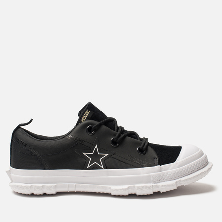 Мужские кеды Converse One Star Mountain Club 18 Low Top Gore-Tex Teak Black 6e9d20f9ada