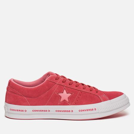 Мужские кеды Converse One Star Pinstripe Paradise Pink/Geranium Pink