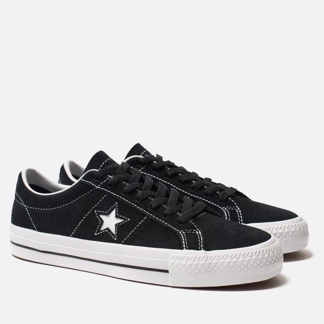 Мужские кеды Converse One Star Pro Black/White