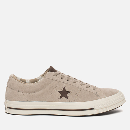 Мужские кеды Converse One Star Tropical Low Papyrus/Dark Chocolate/Egret