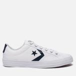 Мужские кеды Converse Star Player White/Athletic Navy/White фото- 0