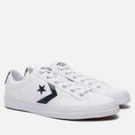 Мужские кеды Converse Star Player White/Athletic Navy/White фото- 2