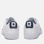 Мужские кеды Converse Star Player White/Athletic Navy/White фото- 3
