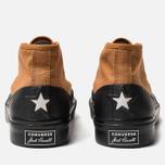 Мужские кеды Converse x ASAP NAST Jack Purcell Chukka Pumpkin Spice/Black/White фото- 3