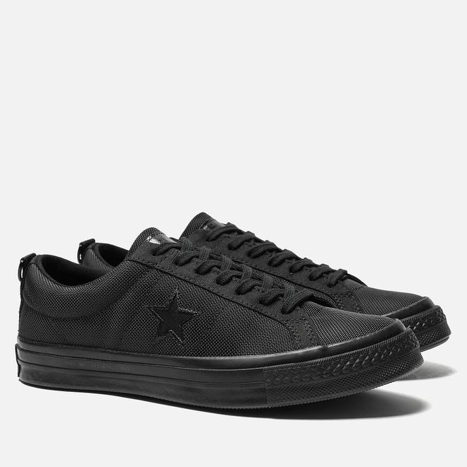 Мужские кеды Converse x Carhartt WIP One Star OX Black/Black/Black