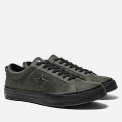 Мужские кеды Converse x Carhartt WIP One Star OX Herbal/Medium Olive/Black
