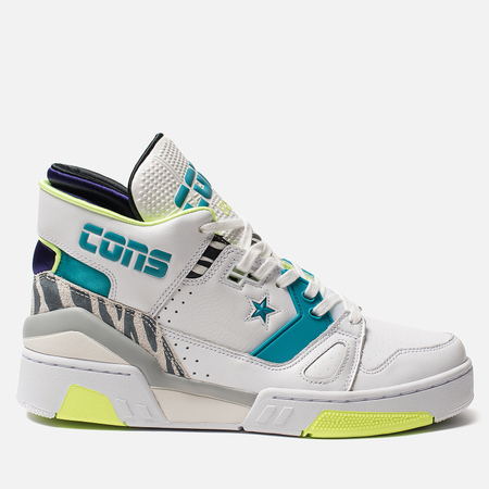 Мужские кеды Converse x Don C ERX 260 Mid White/Rapid Teal/Court Purple