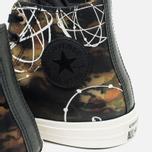 Мужские кеды Converse x Futura Chuck Taylor All Star II Hi Black/Camo/Egret фото- 6