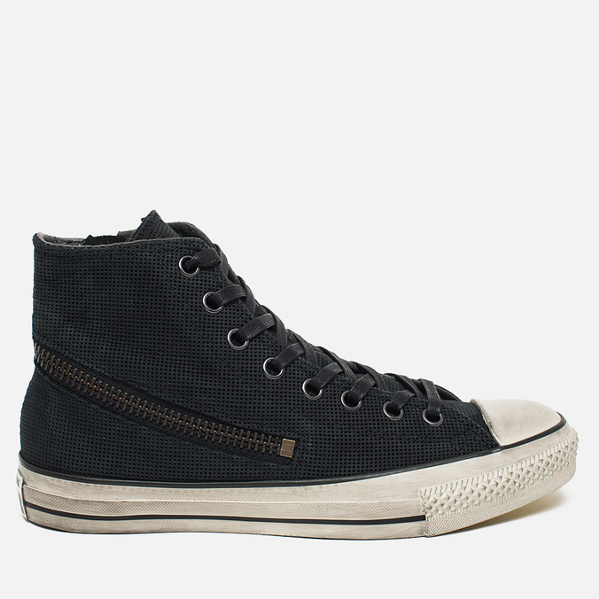 Converse x John Varvatos Chuck Taylor All Star Hi Men's Plimsoles Tornado Zip Grey