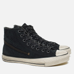 Converse x John Varvatos Chuck Taylor All Star Hi Men's Plimsoles Tornado Zip Grey photo- 1