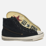 Converse x John Varvatos Chuck Taylor All Star Hi Men's Plimsoles Tornado Zip Grey photo- 2