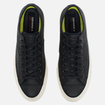 Мужские кеды Converse x John Varvatos Chuck Taylor All Star II Coated Leather Low Black/White фото- 4