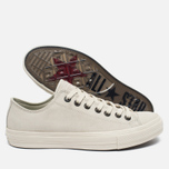 Мужские кеды Converse x John Varvatos Chuck Taylor All Star II Coated Leather Low Off White фото- 1