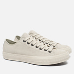 Мужские кеды Converse x John Varvatos Chuck Taylor All Star II Coated Leather Low Off White фото- 2