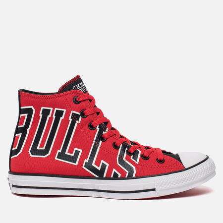 Мужские кеды Converse x NBA Chuck SE Chicago Bulls Red/Black/White