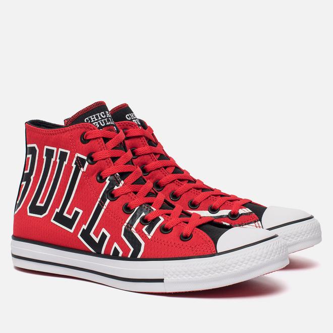 Мужские кеды Converse x NBA Chuck SE Chicago Bulls Red/Black/White