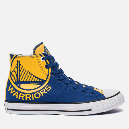 Мужские кеды Converse x NBA Chuck SE Golden State Warriors Blue/Yellow/White
