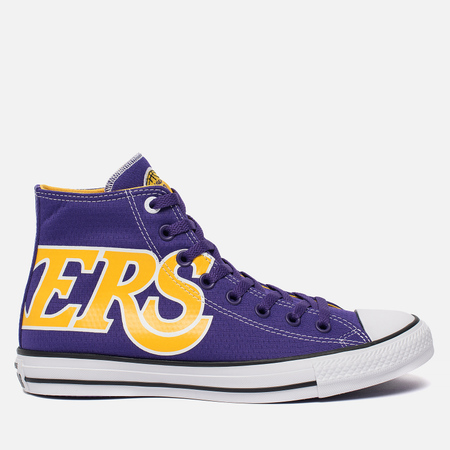 Мужские кеды Converse x NBA Chuck SE Los Angeles Lakers Purple/Gold/White