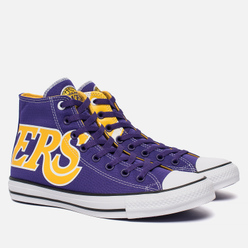 Мужские кеды Converse x NBA Chuck SE Los Angeles Lakers Purple/Gold/White