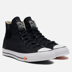 Мужские кеды Converse x ROKIT Chuck 70 High Black