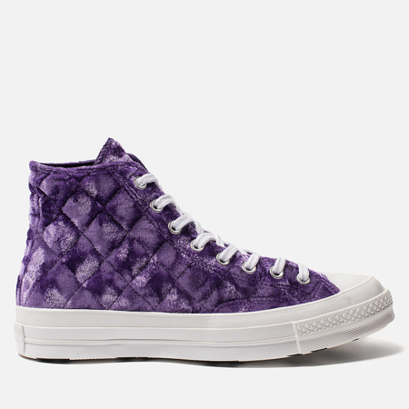 Мужские кеды Converse x Tyler The Creator Golf le Fleur Chuck 70 Velvet High Top Tillandsia Purple