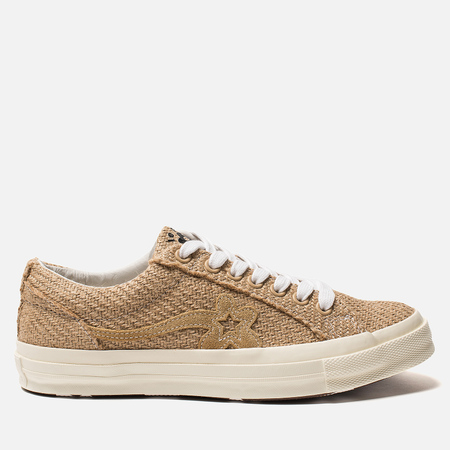 Мужские кеды Converse x Tyler The Creator Golf le Fleur One Star OX  Curry Curry 870340e30fa