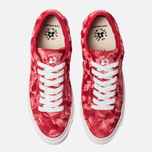Мужские кеды Converse x Tyler The Creator Golf le Fleur One Star Velvet Low Top Barbados Cherry фото- 4