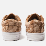Мужские кеды Converse x Tyler The Creator Golf le Fleur One Star Velvet Low Top Brown Sugar фото- 3