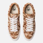 Мужские кеды Converse x Tyler The Creator Golf le Fleur One Star Velvet Low Top Brown Sugar фото- 5