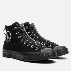 Мужские кеды Converse x Undercover Chuck 70 High Black/Black/Natural