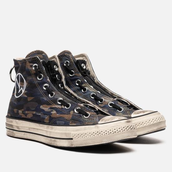 Мужские кеды Converse x Undercover Chuck 70 High Black/White/Egret